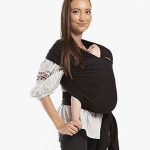Black Boba Wrap Baby Carrier